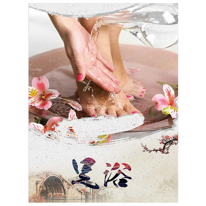 G-08A16 Massage Wall Print -L - Acubest
