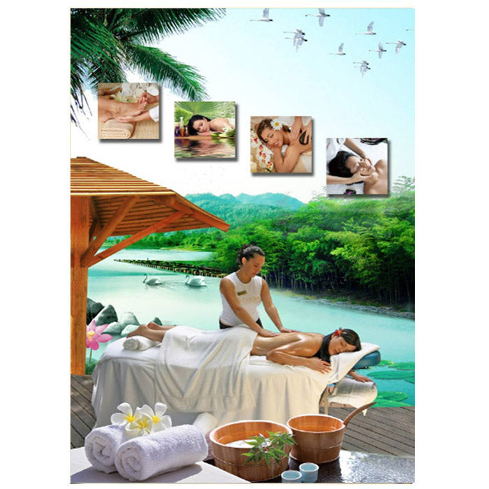 G-08A19 Massage Wall Print -L - Acubest