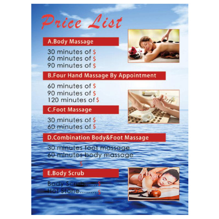 Massage Wall Print / G-08C21 - Acubest