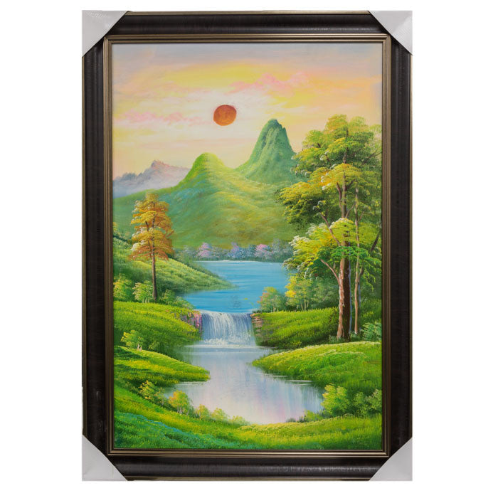 G-11C10 Framed Painting
