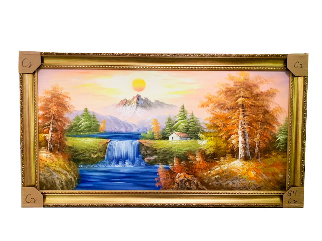 G-11C02 Framed Painting - Acubest