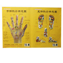 Acupuncture Hand & Foot Gua Sha Chart / G-03D