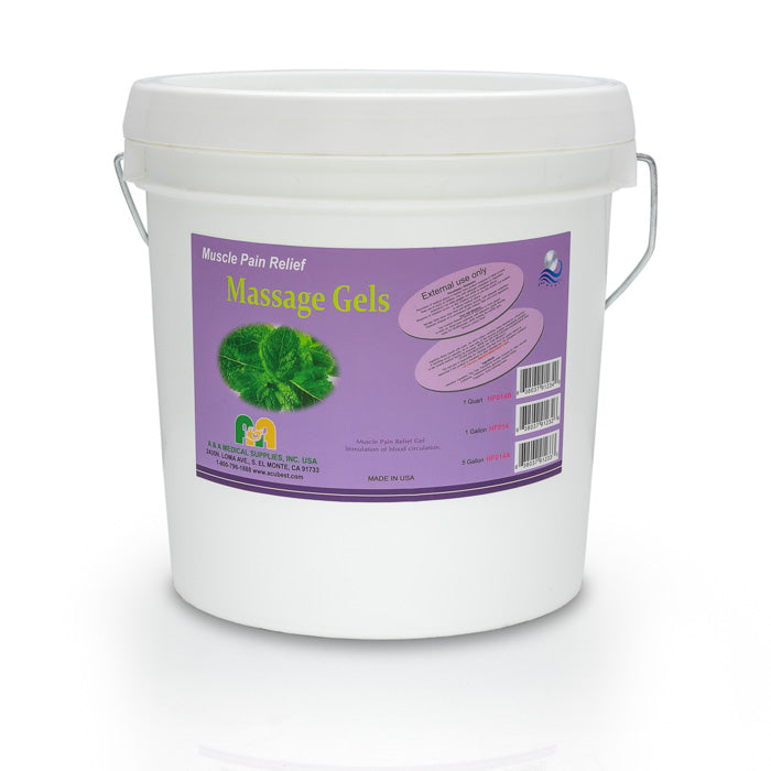 HF014 Pain reliving massage gel gallon pail