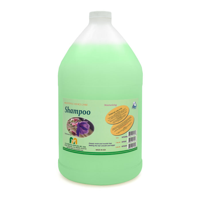HF030 Sea Pearl shampoo gallon bottle