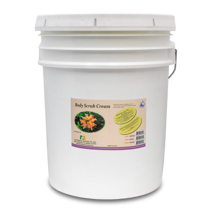 HF033A Body scrub cream 5-gallon pail