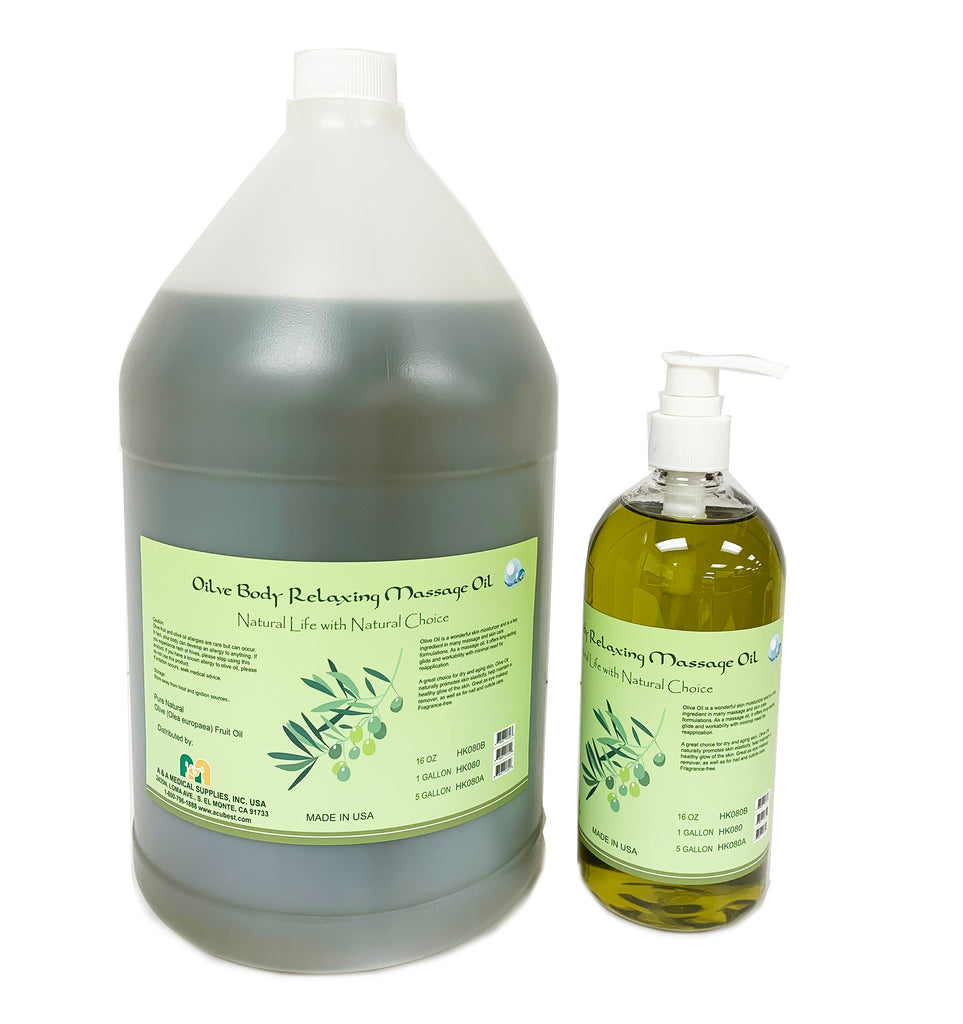 Olive Body Relaxing Massage Oil/pure olive oil for massage HF080 - Acubest