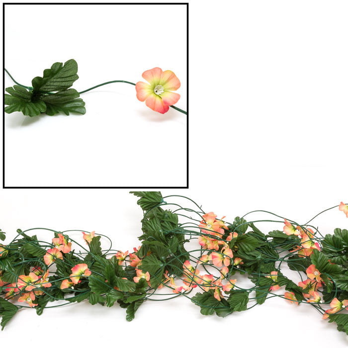Simulated Flowers and Leaves on Vines / Various Styles / HF096