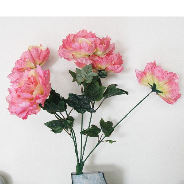 Simulation Flower/ Peony Flower/ Item# HF097-10