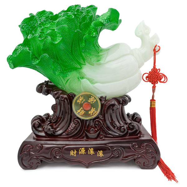 HF133B9 Money cabbage statue