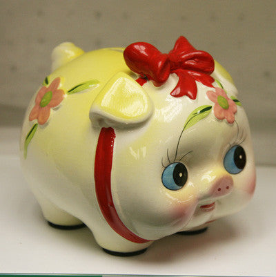 HF134C1 6 COLORFUL PIGGY BANK