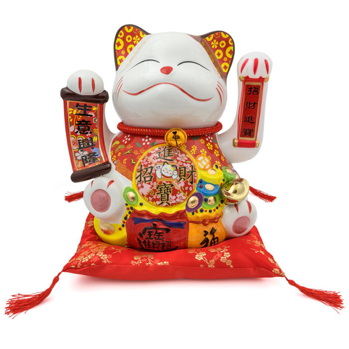 HF137C8 Lucky Cat Figure
