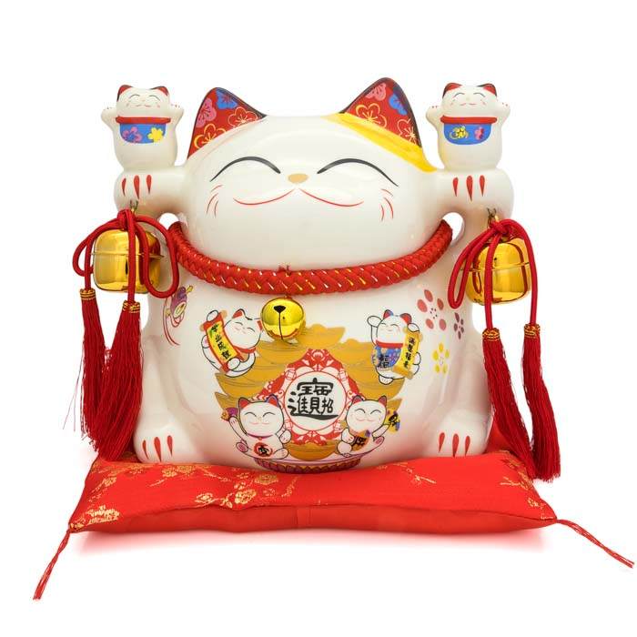 HF137D8 Lucky cat coin bank