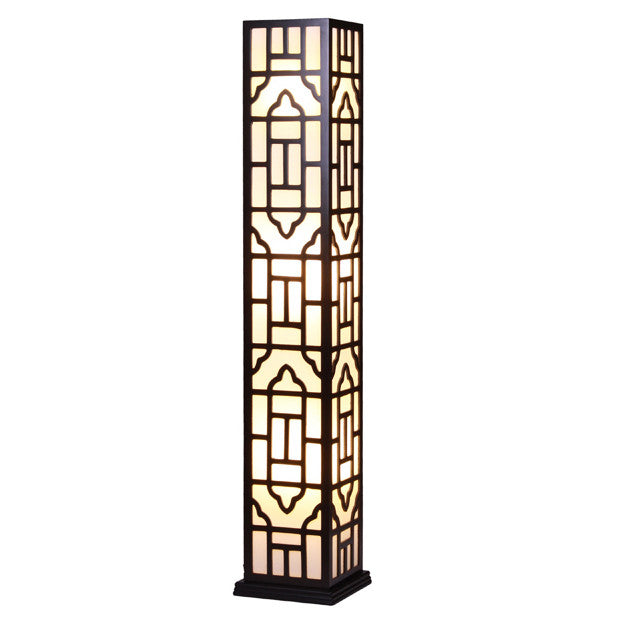 Antique Floor Lamp/ Wooden Floor Lamp/Floor Lamp/ # HF148A8