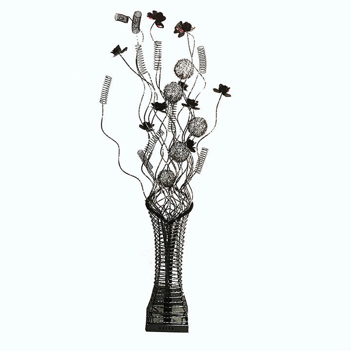 Floor Lamp/ Aluminum Floor lamp/ Flower Baskets lights/ Item# HF152K1A