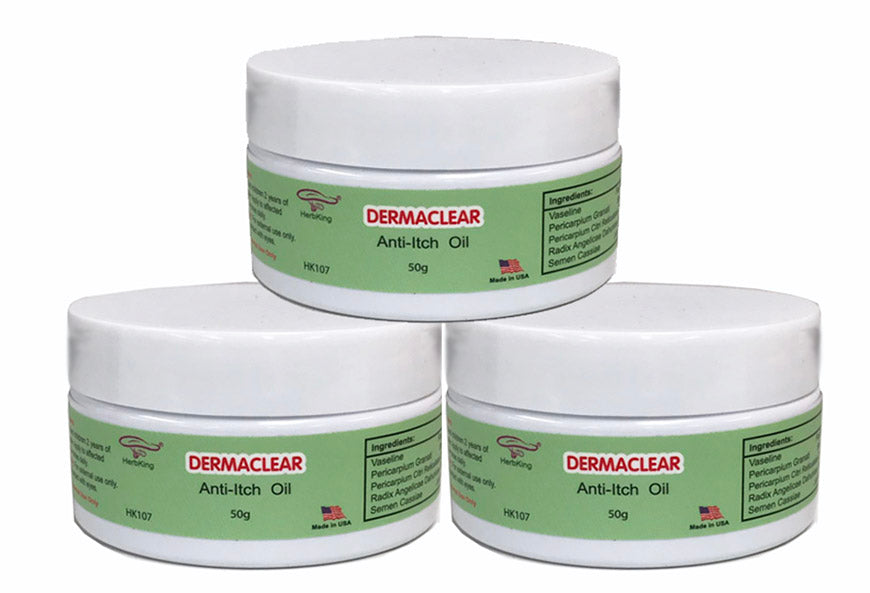 HK107 Dermaclear Anti-Itch Salve