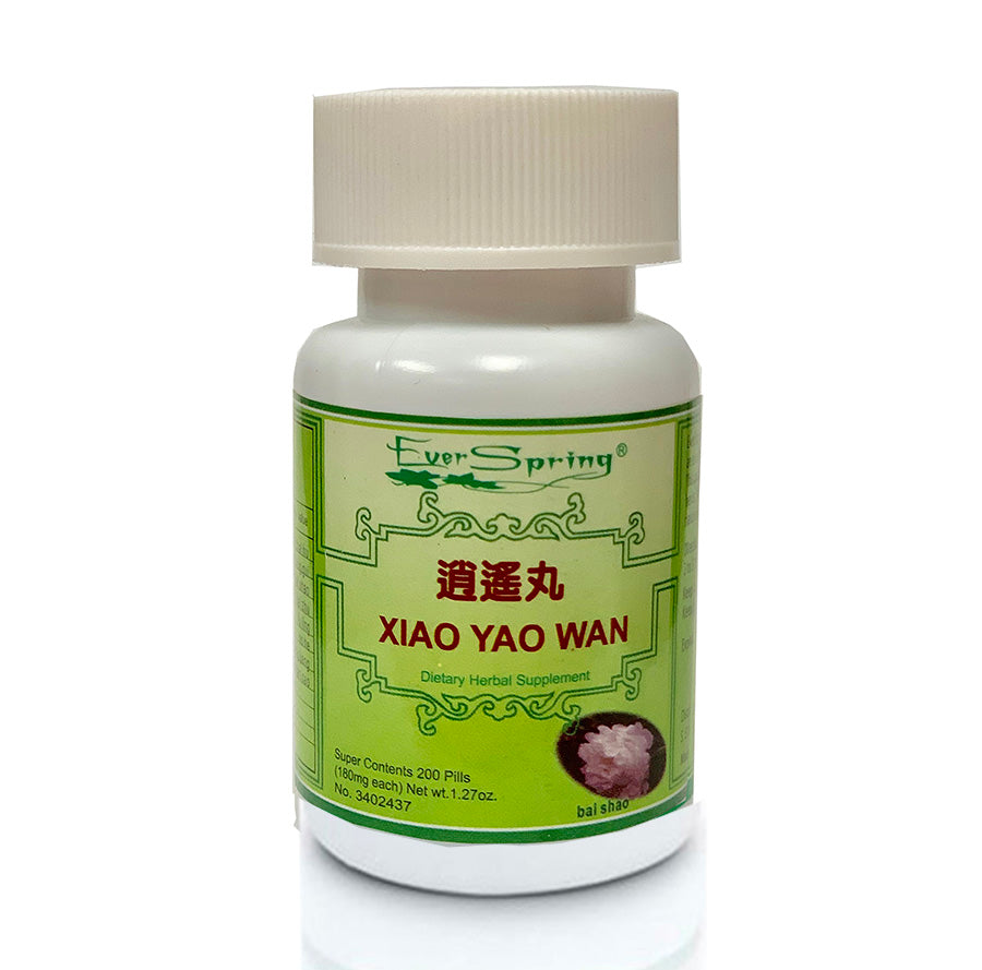 N007  Xiao Yao Wan / Ever Spring - Traditional Herbal Formula Pills
