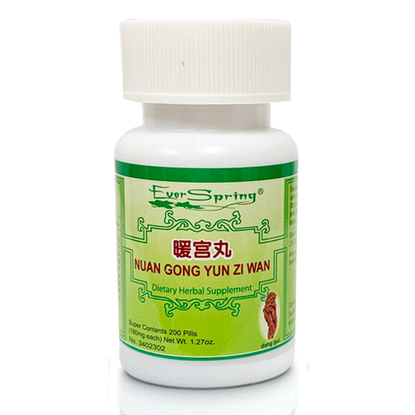 N068  Nuan Gong Yun Zi Wan  / Ever Spring - Traditional Herbal Formula Pills
