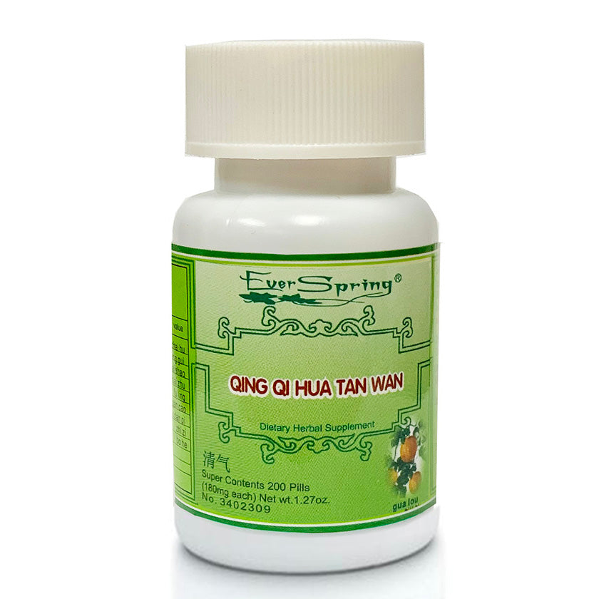 N075  Qing Qi Hua Tan Wan / Ever Spring - Traditional Herbal Formula Pills - Acubest