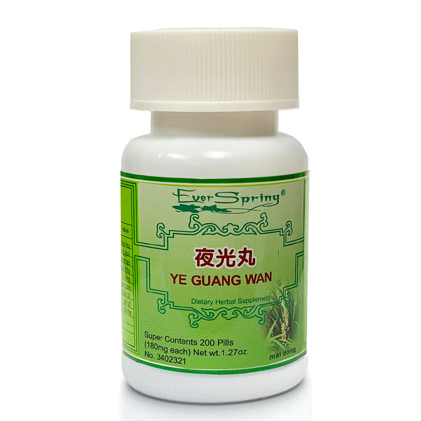 N087  Ye Guang Wan  / Ever Spring - Traditional Herbal Formula Pills - Acubest