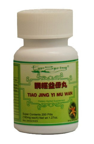 N089  Tiao Jing Yi Mu Wan  / Ever Spring - Traditional Herbal Formula Pills