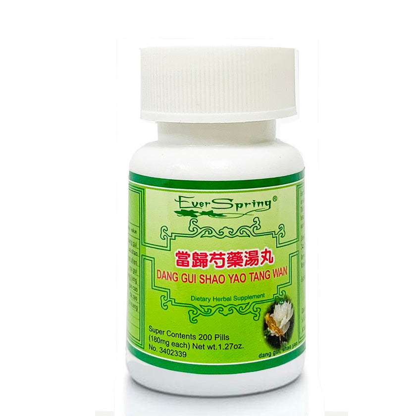 N105  Dang Gui Shao Yao Tang Wan / Ever Spring - Traditional Herbal Formula Pills - Acubest