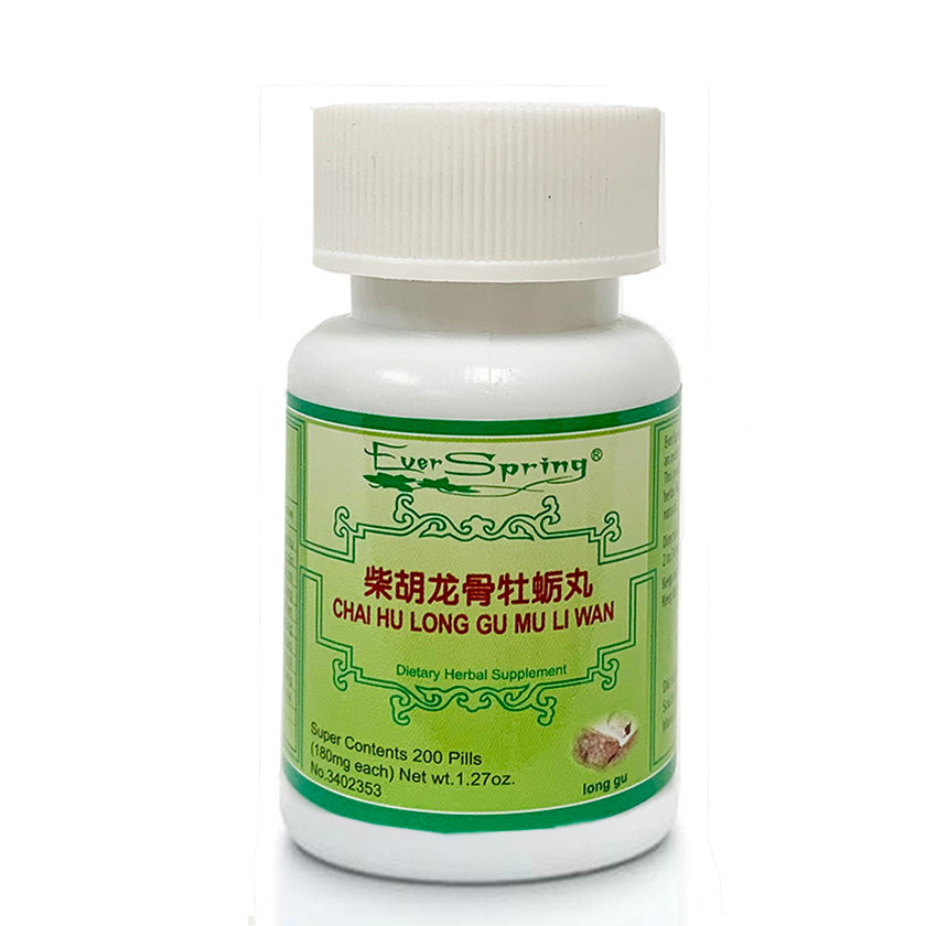N119  Chai Hu Long Gu Mu Li Wan  / Ever Spring - Traditional Herbal Formula Pills