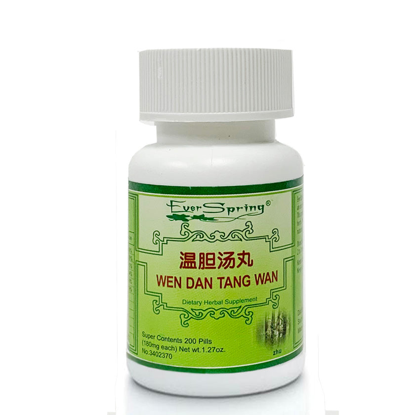 N136  Wen Dan Wan / Ever Spring - Traditional Herbal Formula Pills - Acubest
