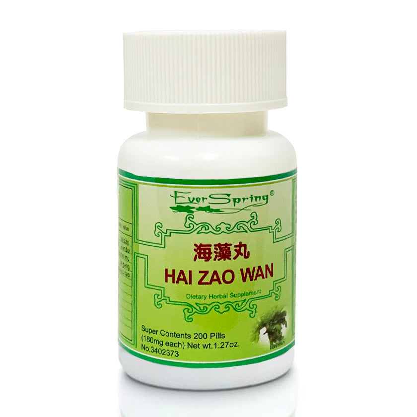 N139  Hai Zao Wan  / Ever Spring - Traditional Herbal Formula Pills - Acubest