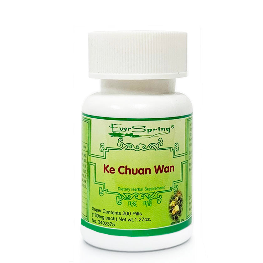N141  Ke Chuan Wan  / Ever Spring - Traditional Herbal Formula Pills