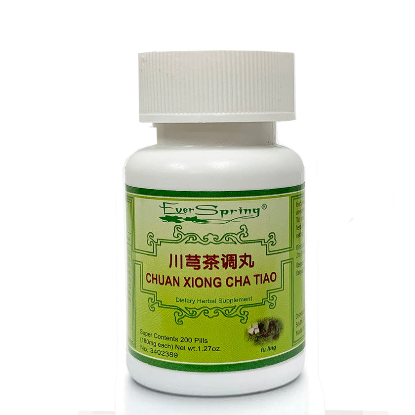 N155  Chuan Xiong Cha Tiao Wan  / Ever Spring - Traditional Herbal Formula Pills - Acubest