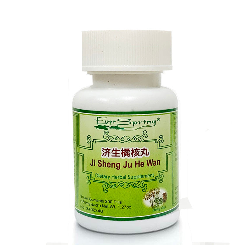 N178  Ji Sheng Ju He Wan  / Ever Spring - Traditional Herbal Formula Pills