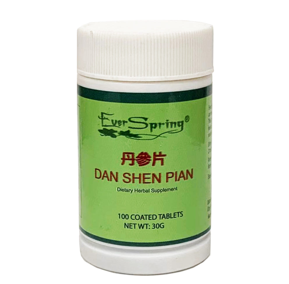 Ever Spring Dan Shen Pian Traditional Herbal Formula Tablets / N202