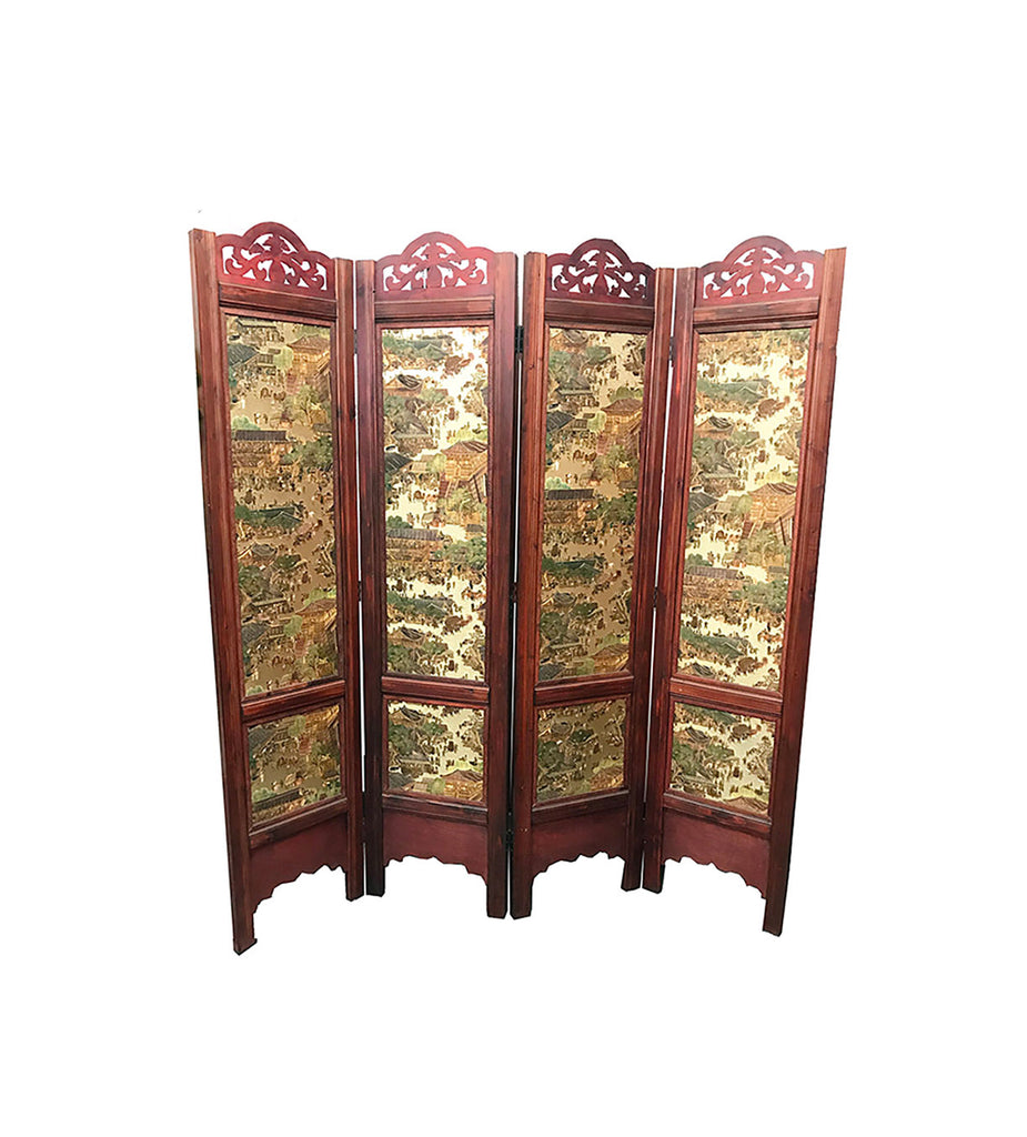 Wood Screen/Room Screens/ Folding Screen Item#T-04B12 - Acubest