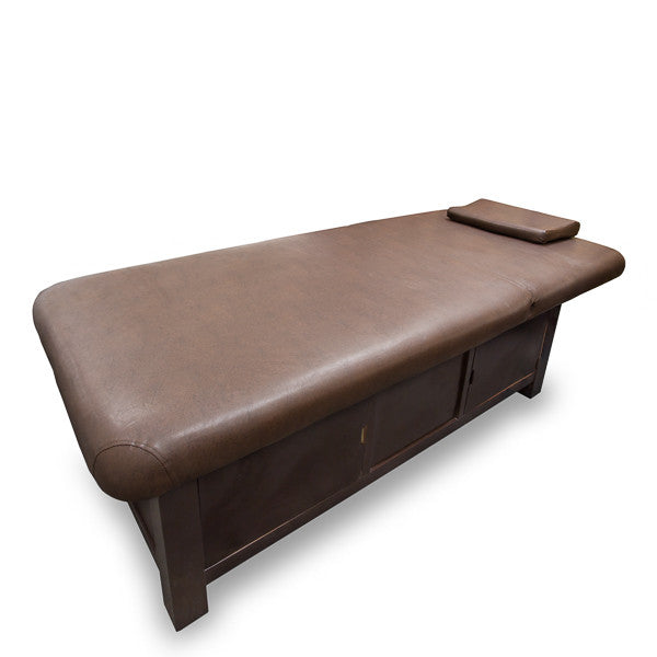 Wooden Frame Massage Table with Storage Compartment / T-10C2 - Acubest