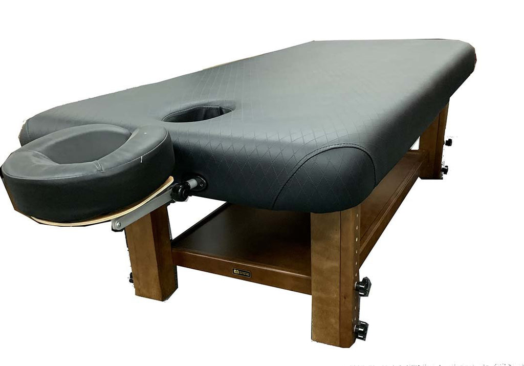 A&A Adjustable Wooden Frame Massage Table / T-10F4