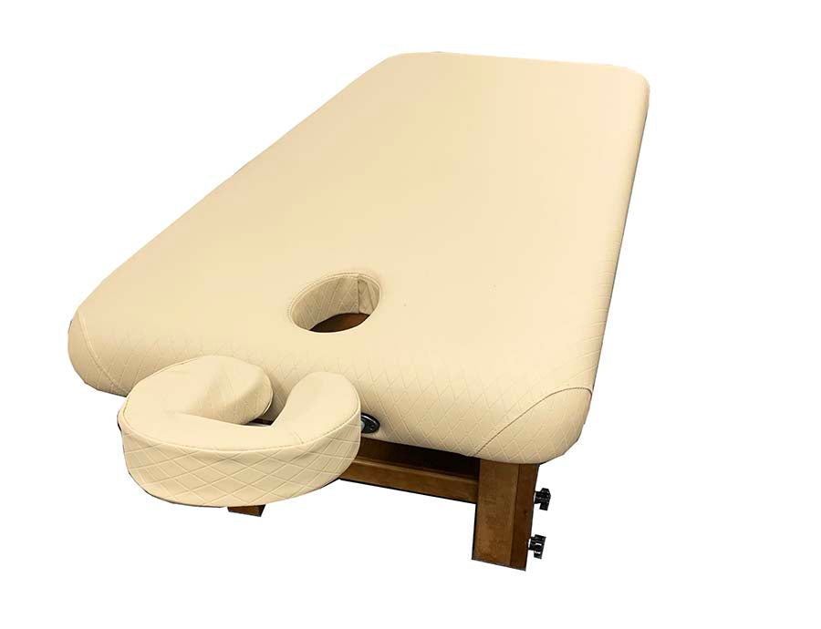 A&A Adjustable Wooden Frame Massage Table / T-10F5 - Acubest