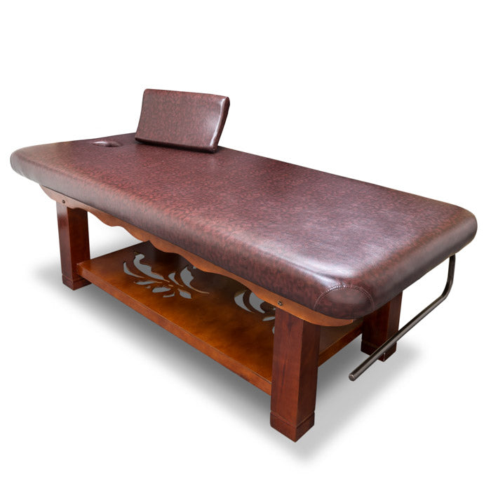 Wooden Frame Massage Table / T-10G3 - Acubest