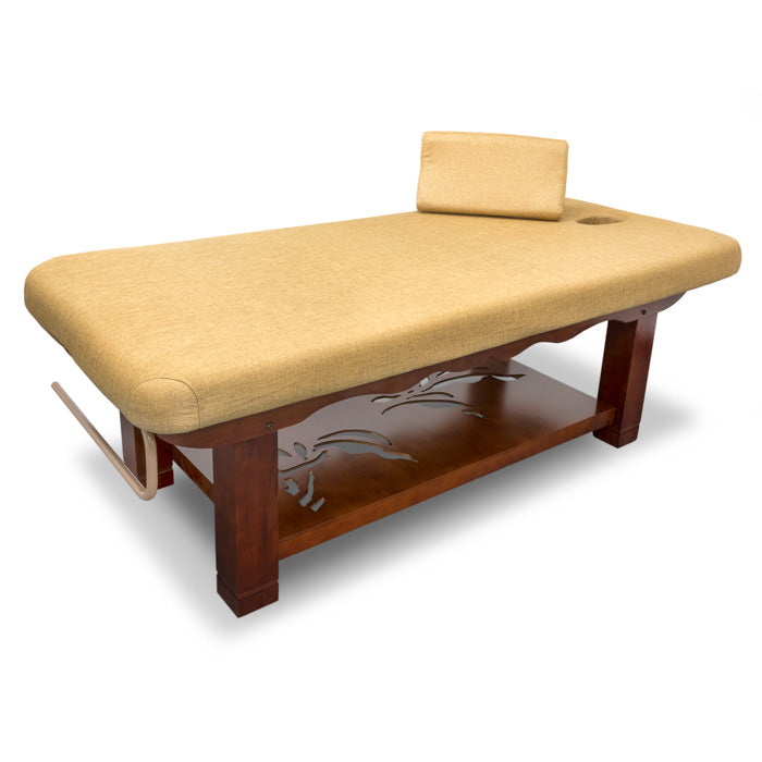 Wooden Frame Massage Table / T-10G4 - Acubest