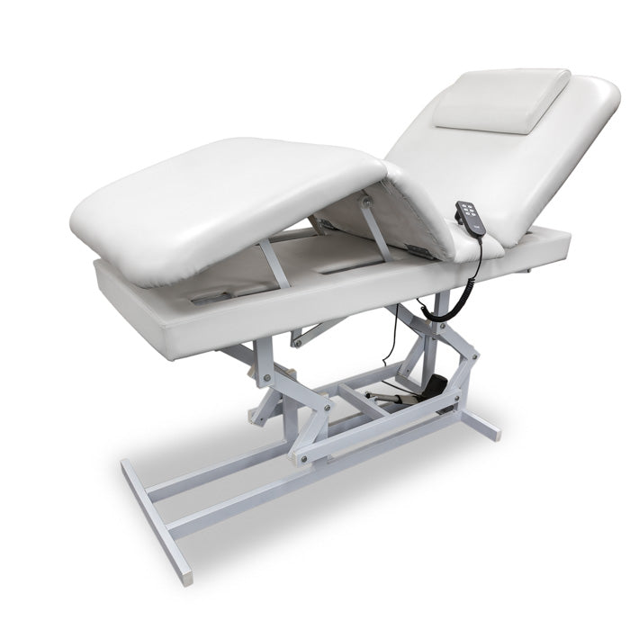 T-19 Massage and facial table raised