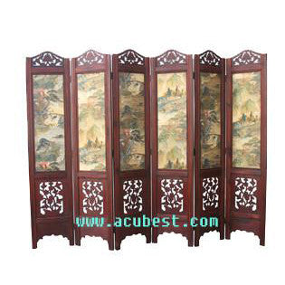 Wood Screen/Room Screens/ Folding Screen Item#T-04C1