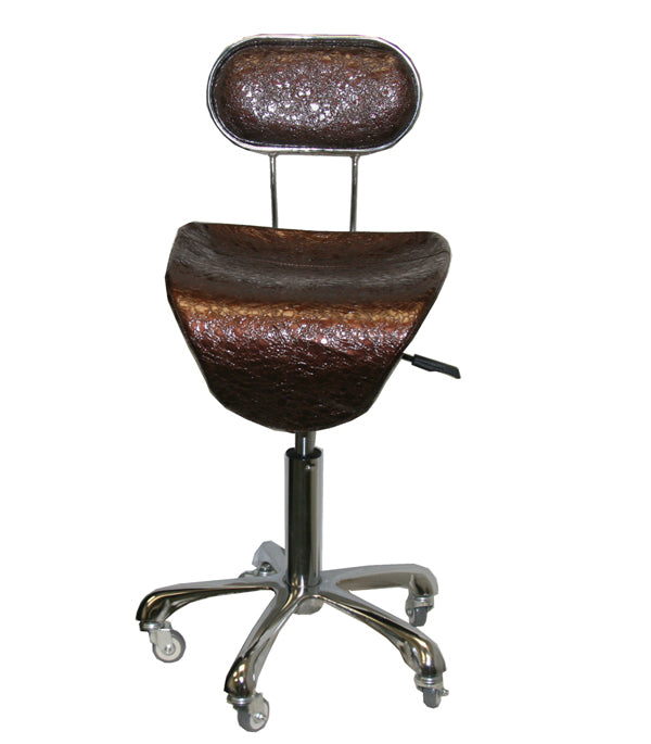 Facial Stool/ /Facial Beauty Chair/Salon Equipment / Brown /# T-06B7