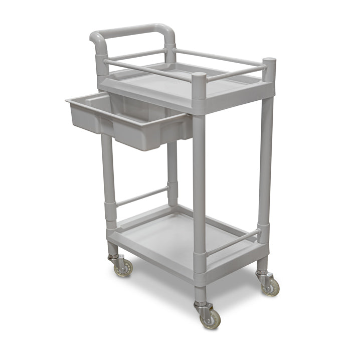 Medical Utility Cart with Drawer / U-01A