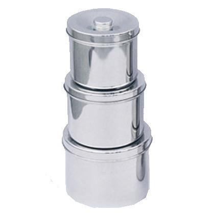 Steel Dressing Jar / U-15