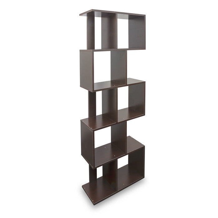 U-30C7 Shelf angled view — Dark Brown