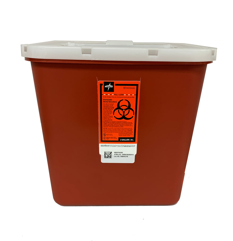 Single-Use Sharps Container / U-34