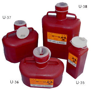Single-Use Sharps Container / U-35