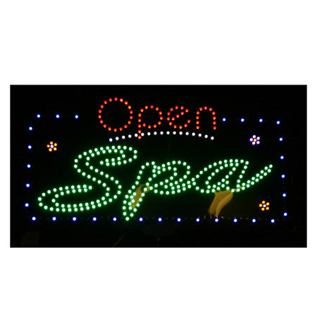 LED SPA Open Sign / U-41A