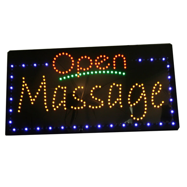 LED Neon Open Massage Sign / Item # U-43A
