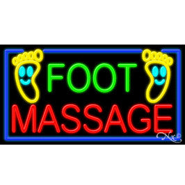 U-45C1 FOOT MASSAGE NEON SIGN