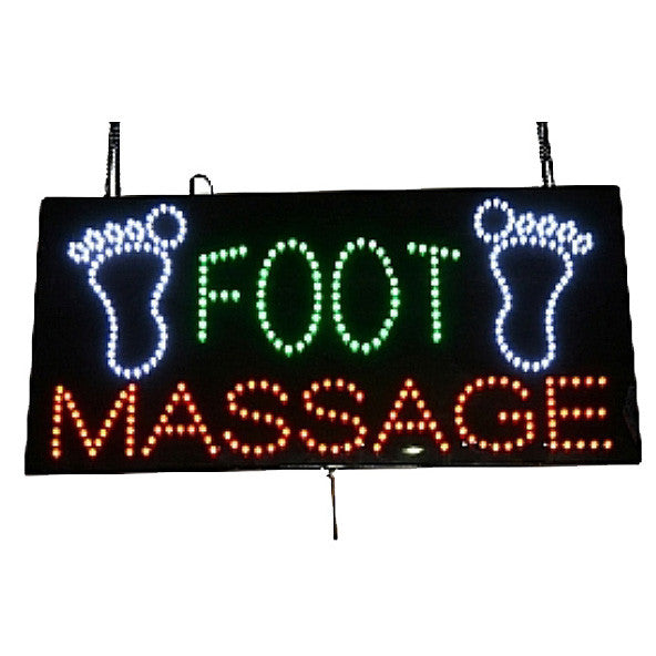 LED Foot Massage Sign / U-45